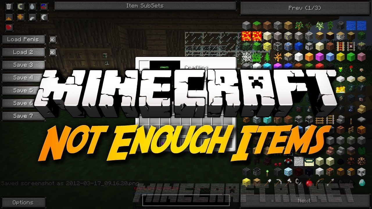 Not Enough Items [1.7.10] - Minecraft Shaders